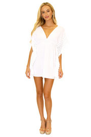 NW1073 - White Cotton Cover-Up