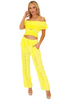 NW1175 - Yellow Cotton Pants