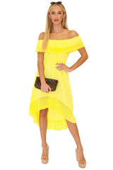 NW1083 - Yellow Cotton Dress