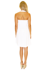 NW1086 - White Cotton Dress