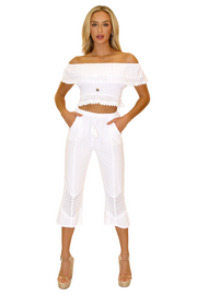 NW1091 - White Cotton Top