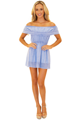 NW1094 - Blue Cotton Dress