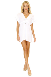 NW1110 - White Cotton Cover-Up