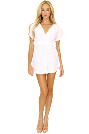 NW1112 - White Cotton Cover-Up