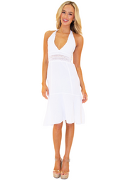 NW1115 - White Cotton Dress