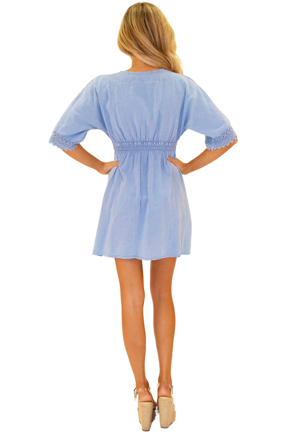 NW1148 - Blue Cotton Cover-Up