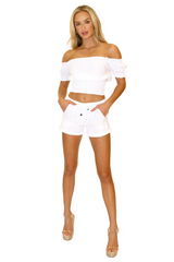 NW1162 - White Cotton Top