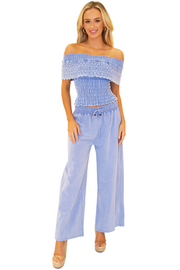 NW1121 - Blue Cotton Pants