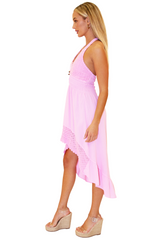 NW1169 - Pink Cotton Dress