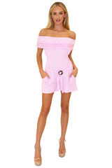NW1173 - Pink Cotton Romper