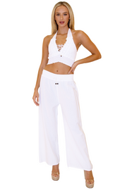 NW1121 - White Cotton Pants