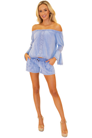 NW1205 - Blue Cotton Top