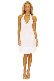 NW1206 - White Cotton Dress