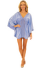 NW1217 - Blue Cotton Cover-Up