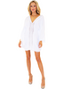 NW1217 - White Cotton Cover-Up