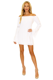 NW1219 - White Cotton Dress