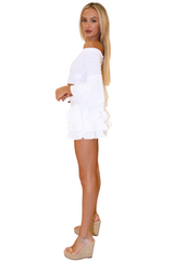 NW1030 - White Cotton Skirt