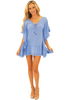 NW1252 - Blue Cotton Cover-Up