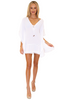 NW1252 - White Cotton Cover-Up