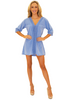 NW1253 - Blue Cotton Cover-Up
