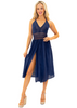 NW1273 - Navy Cotton Dress