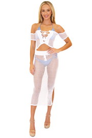 NW1277 - White Cotton Top
