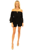 NW1311 - Black Cotton Romper