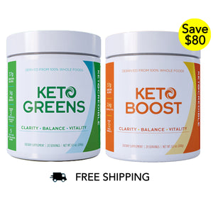 KETO Greens + Boost Bundle