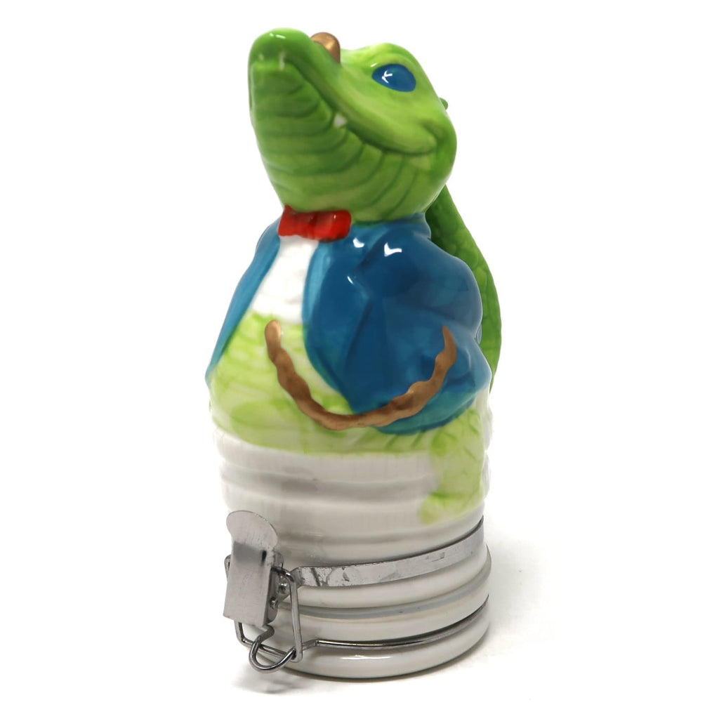 Contained Art Smoking Accessories Professor Croc Porcelain Container