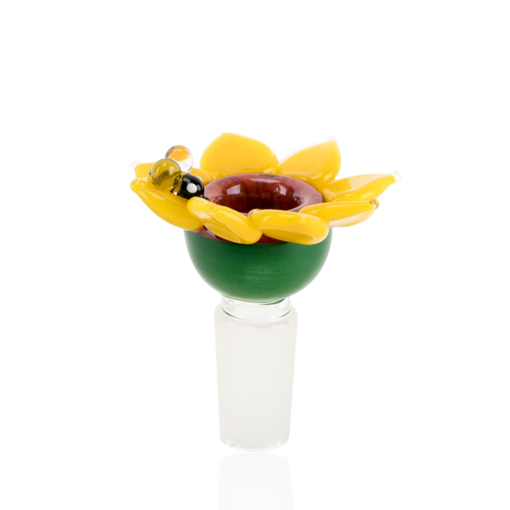Empire Glassworks Bong Bowls 14mm Bowl - Sunflower