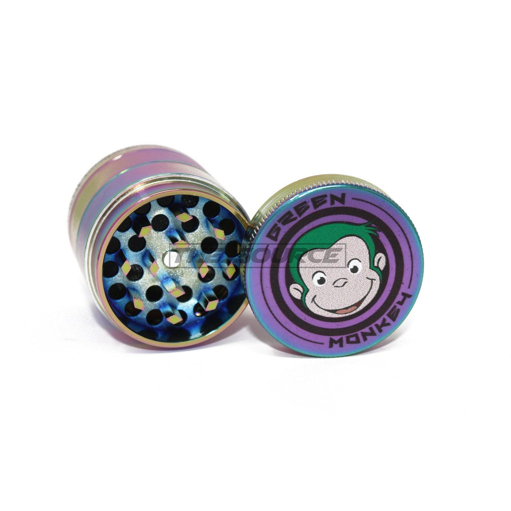 40mm Rainbow Aluminum Grinder - The Source of All