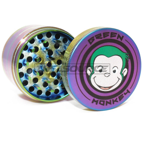 63mm Rainbow Aluminum Grinder - The Source of All