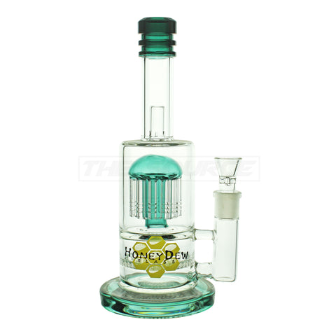 "11"" HoneyDew Glass Honeycomb Perc to Tree Perc - The Source of All"