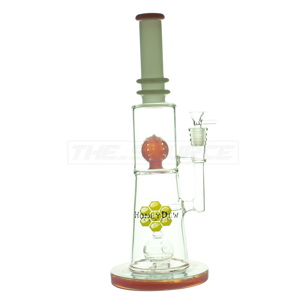 "15"" Pink Faberge Perc to Ball Perc Water Pipe - The Source of All"