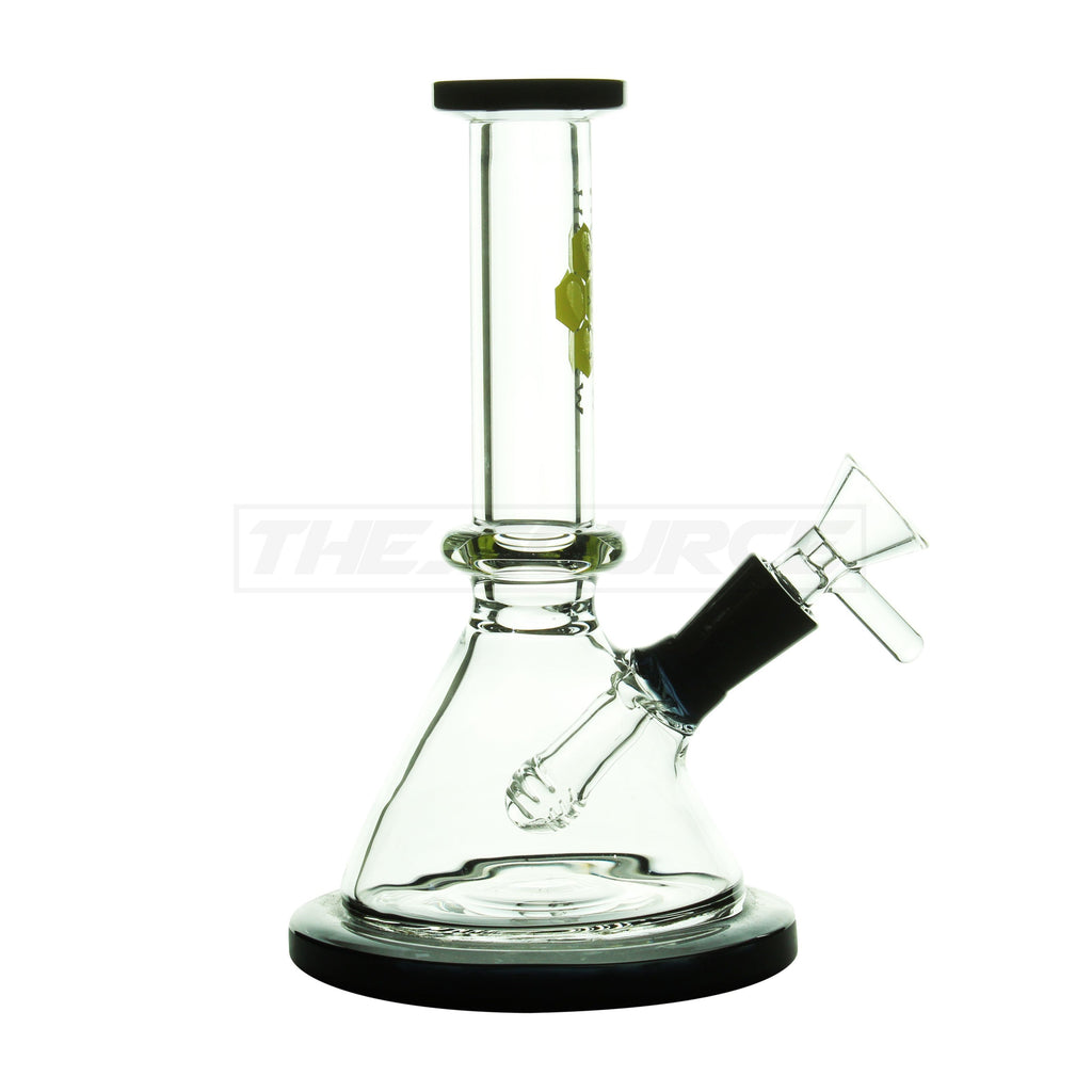 "7"" HoneyDew Glass Crystal Ball Perc Mini Rig - The Source of All"