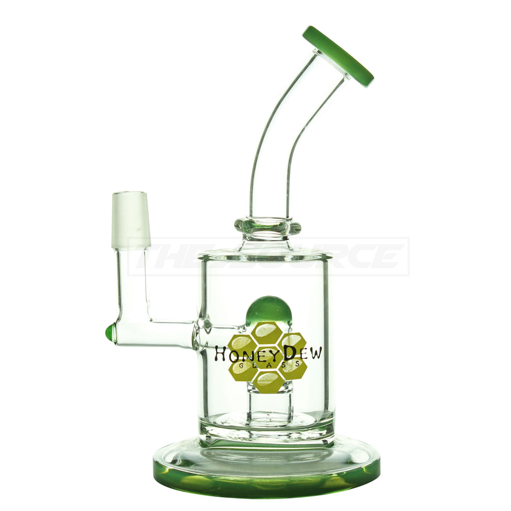"8"" HoneyDew Glass Oil Rig - The Source of All"