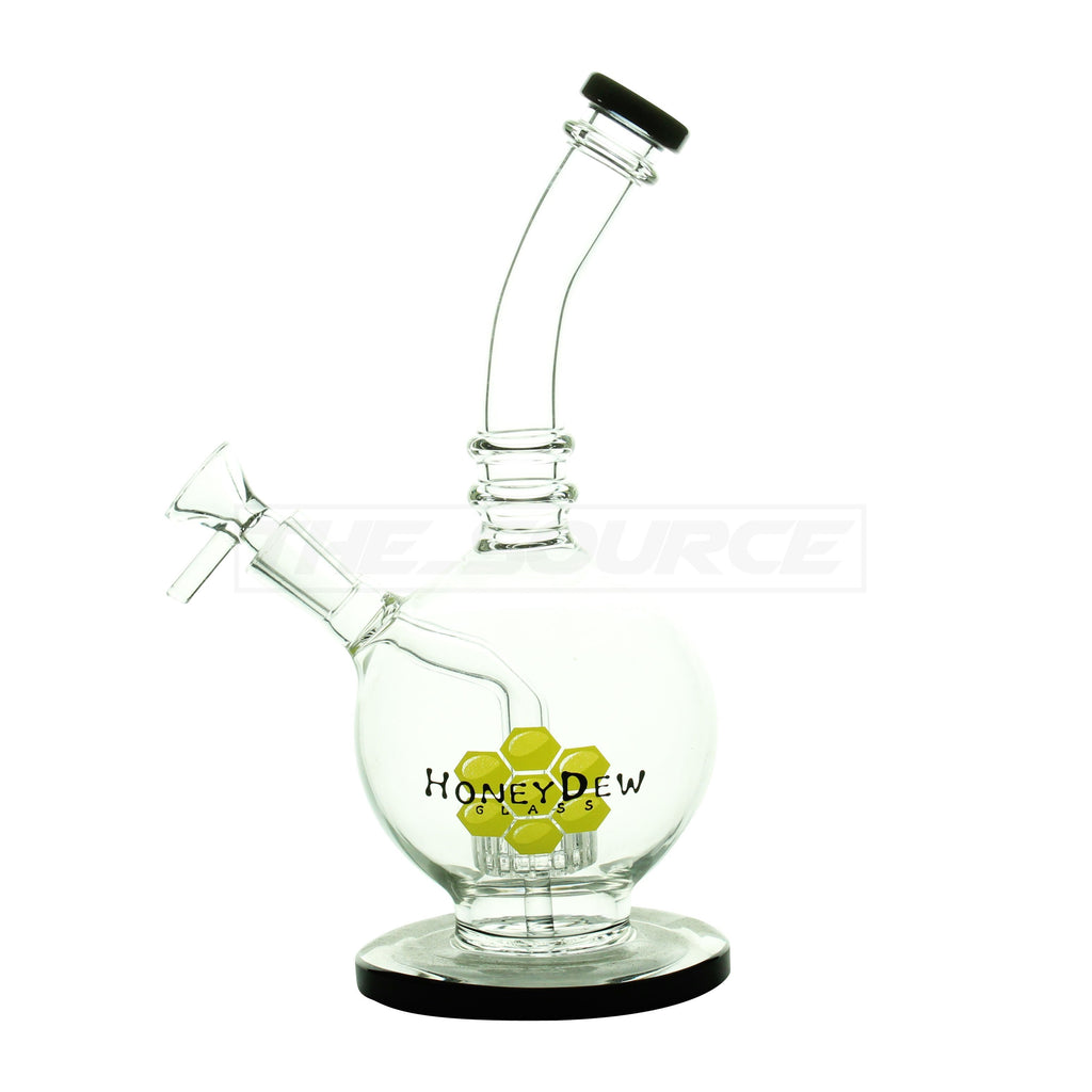 "8"" HoneyDew Glass Matrix Perc Perc Mini Rig - The Source of All"