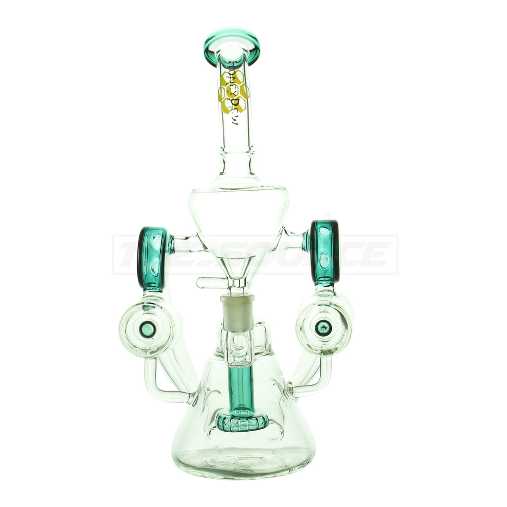 "13"" 4-Arm Multi Perc Recycler - The Source of All"