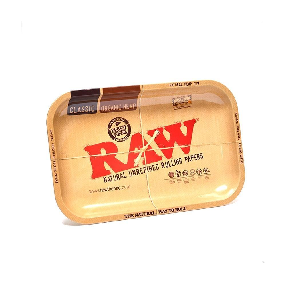 "11"" x 7"" RAW Rolling Tray - The Source of All"