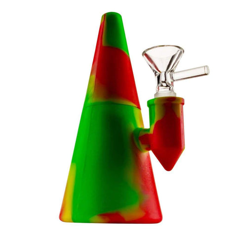 Smokerolla Water Pipes Rasta 710 Silicone Funnel Rig