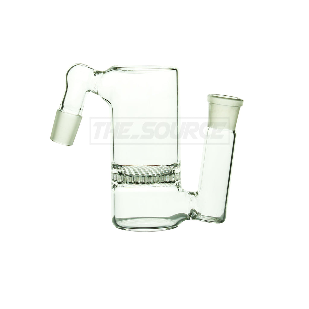 19mm Male Honeycomb Perc Ash Catcher - The Source of All