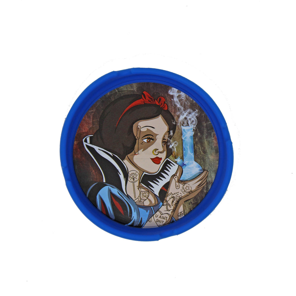 "4"" Snow Girl Silicone Ash Tray - The Source of All"