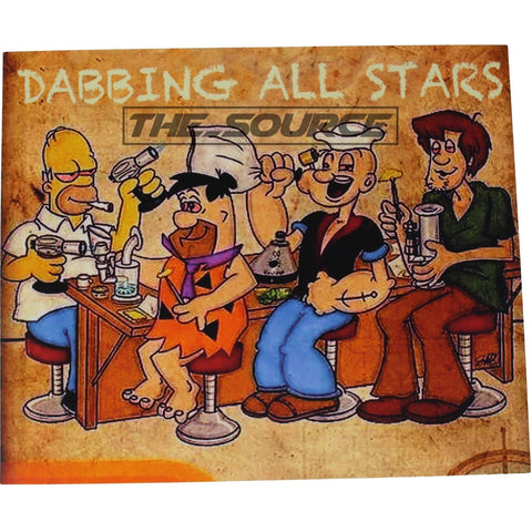 All Stars Silicone Dab Mat - The Source of All