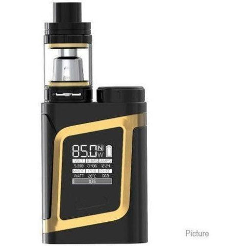 The Source of All Black/Gold Smok AL85 Kit