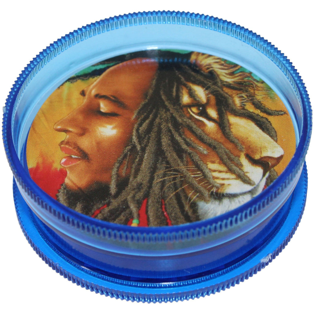 "2"" Bob Marley Acrylic Grinder - The Source of All"