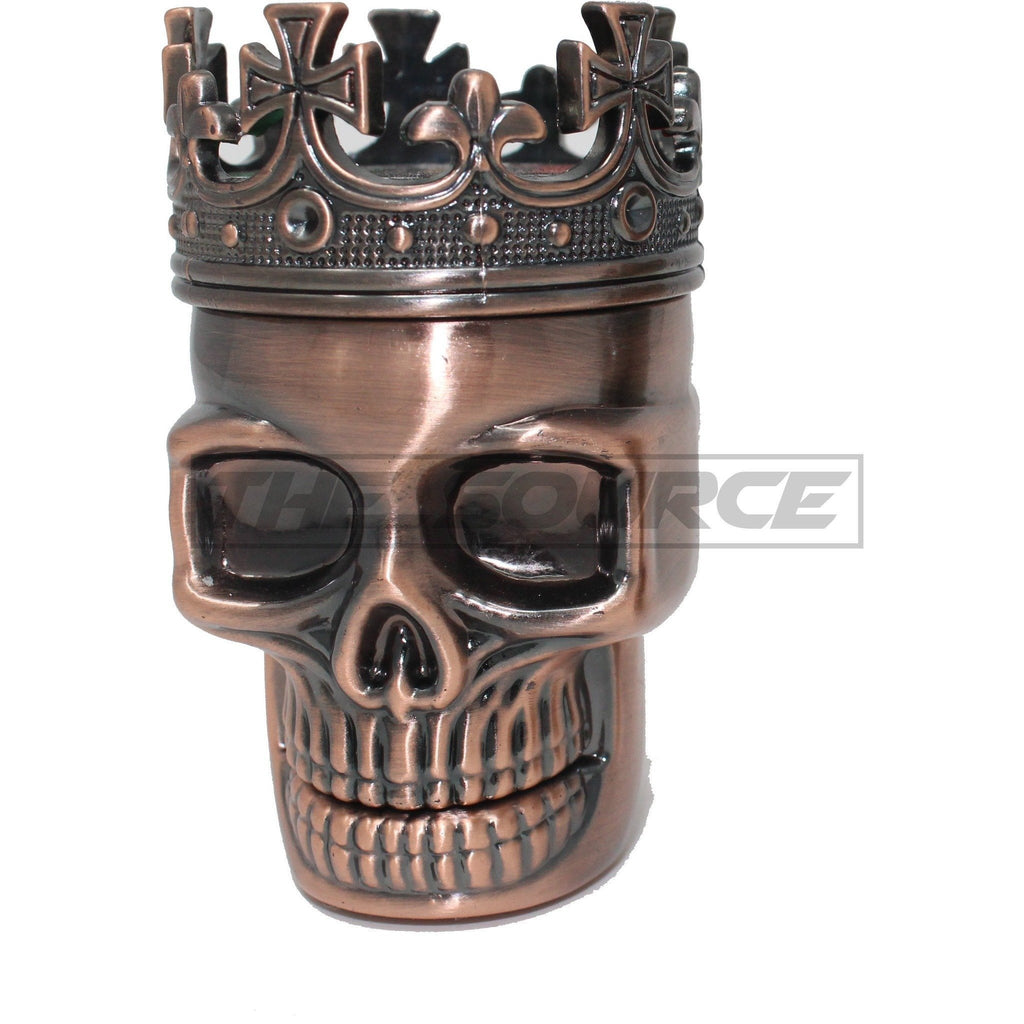 The Source of All Copper Skull Metal Grinder