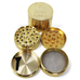 "Gold Original Fancy Goods Grinder 2.5"" - The Source of All"