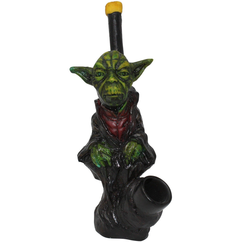 Green Smoke Wars Resin Pipe - The Source of All