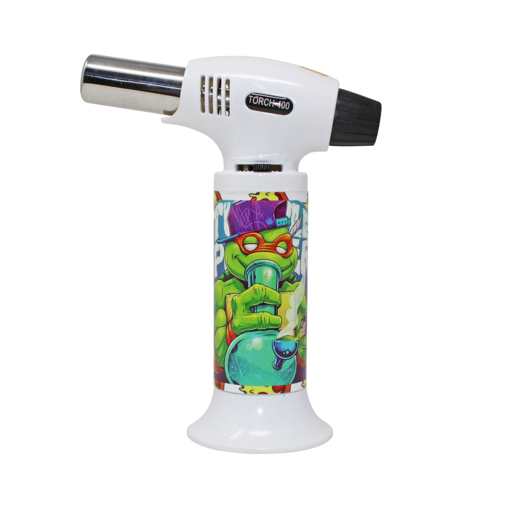The Source of All Pizza Turtle Butane Torch