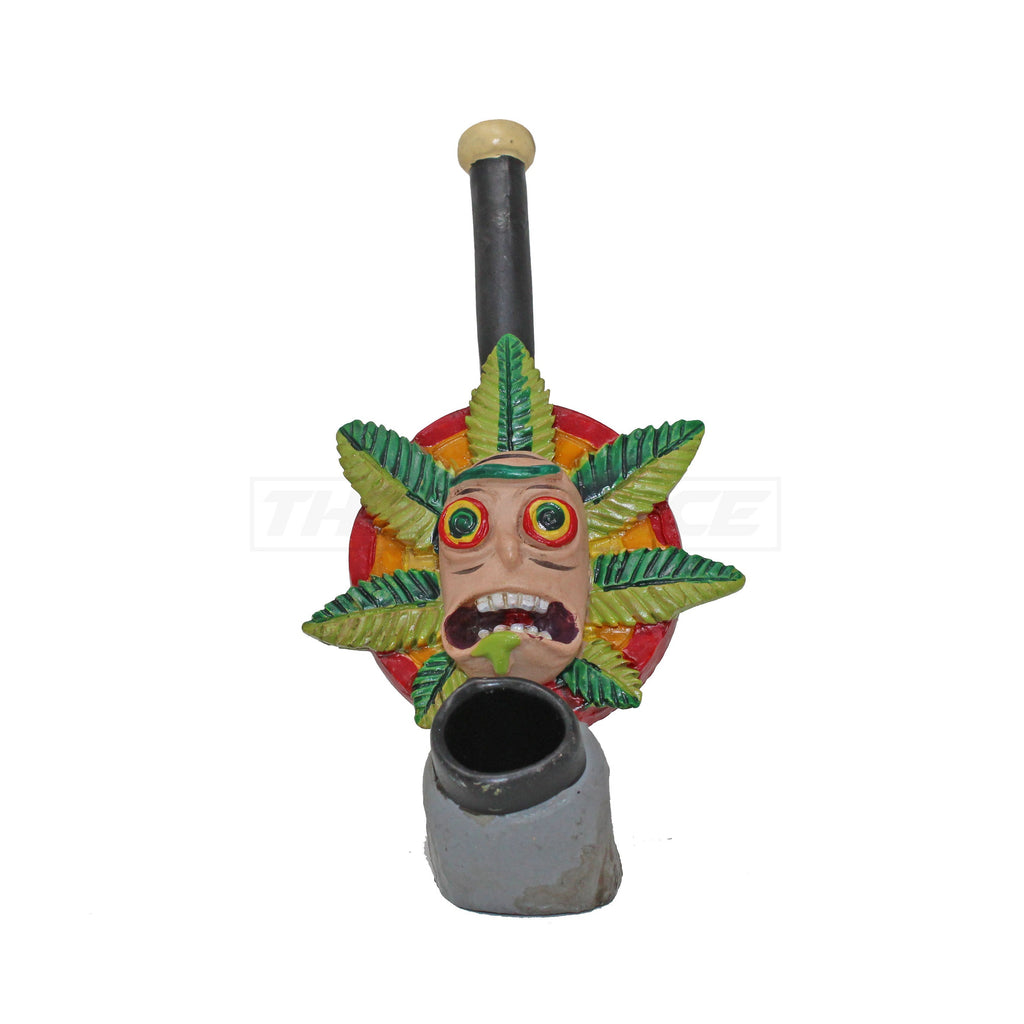 Rasta Rick Resin Pipe - The Source of All